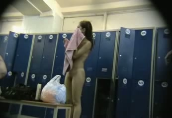 Hidden locker room camera