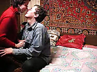 Gorgeous Russian auntie let me fuck her fat hairy pussy
