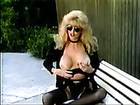 Gorgeous mature woman with big boobs fucks a stranger