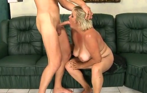 Blonde milf slut