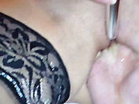 Hardcore fisting for my mature wife with pierced pussy