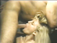 Two incredibly hot blonde bitches banged in threesome