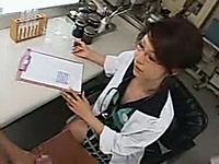 Horny Asian Italian office slut getting horny at work