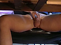The naughty hands of my girlfriend playing with my dick