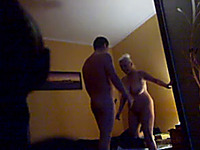 Hidden cam sex video with my mature slutty neighbor lady