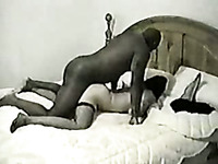 Huge black dude drills me hard while my husband is at work