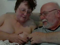 English mature couple playing with each other for me on webcam