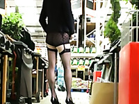 Bewitchingly hot MILF in sexy stockings knows how to make a man horny