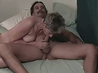 Eating and fucking my milf wife's shaved pink snapper