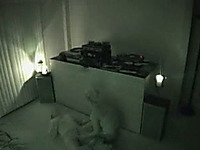 Hidden cam scene with a couple having oral sex in a hotel