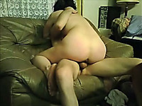 My naughty girlfriend enjoys riding my dick in cowgirl position