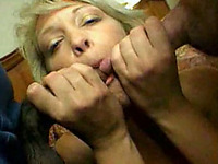 Black friend and me double team my hot and busty mature wife