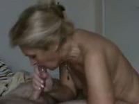 Hot mom sex in kitchen