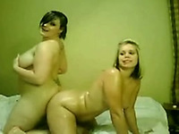 My chubby friends with plump asses love getting naughty on camera