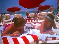 One of the best voyeur pleasures on Caribbean beach is to film hot gals