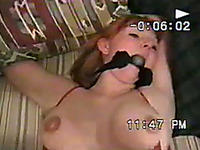 Light BDSM session and missionary style fuck for my wife