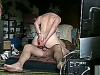 My chubby wife with fat ass is bouncing on my dick like a fucking cowgirl