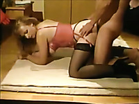 Busty blonde milf wife and her chubby new lover having awesome sex