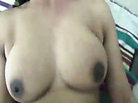 Chunky Indian busty wife fucks my friend while I film her