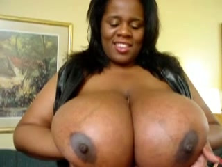 Monster ebony tits
