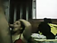 Chubby Egyptian milf prostitute blows me till I cum in her mouth
