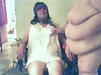 Two kinky old BDSM bitches give lesbo performance