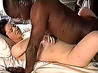 My sexually submissive wife loves my huge black cock