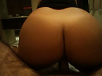 My sexy girlfriend with big ass loves reverse cowgirl position