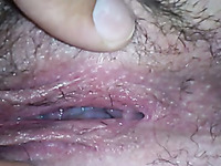 I love to shave my pussy in front of my horny hubby