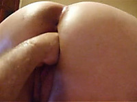 Breath-taking homemade clip with me fisting my wife's cunt