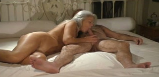 Tranny on girl creampie