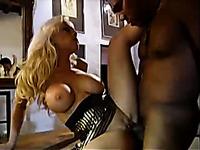 Black neighbor properly fucks my blonde wife's hungry hole