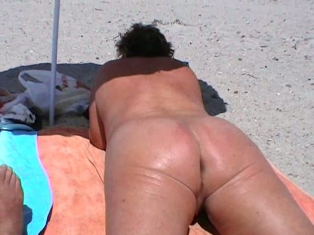 Bbw At Nude Beach