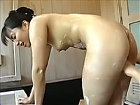Cum-addicted Japanese slut knows how to give great head