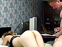 Really soft anal sex with Russian hot college girl