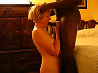 Cock crazed granny with a never ending sex drive likes it big and black