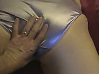 Screwing my hot white milf wife from behind on POV hot video