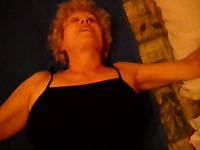 63 years old accountant granny gives me footjob after work