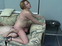 Sexy lady with short hair loves face sitting and dominating her BF