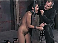 Hot BDSM video with amazing brunet slut called Jade