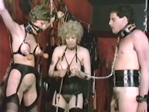 Awesome Retro Bdsm Session With Nasty White Lesbian Ladies -1437