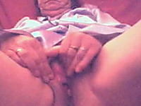 Pussy fingering fun with my horny 52 yo mature BBW wife