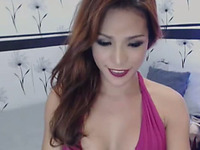 Cute and Sexy Shemale Sucks Own Cock