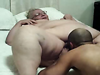 Sexy time with my mature BBW wife after work on homemade video