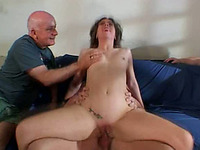 Sensual and cute milf Shannon enjoys double penetration action