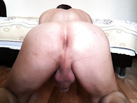 A kinky friend of mine sent me the video of his masturbation session