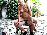 My mature blonde wife wants to suck my dick outdoors