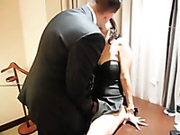asian wife love white bull and cuckold her husband