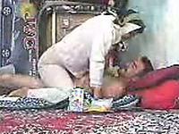 Kinky amateur Paki wifey teases her hubby with striptease and lap dance