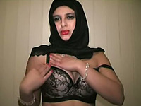 Outrageous erotic solo show of a hot Indian webcam model